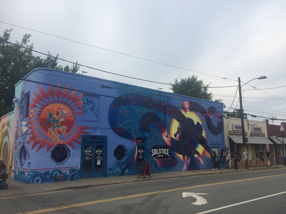 NoDa neighborhood in Charlotte