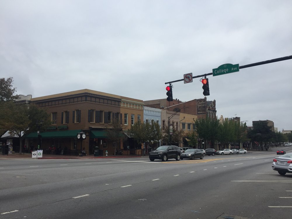 Broad Street, downtown Athens