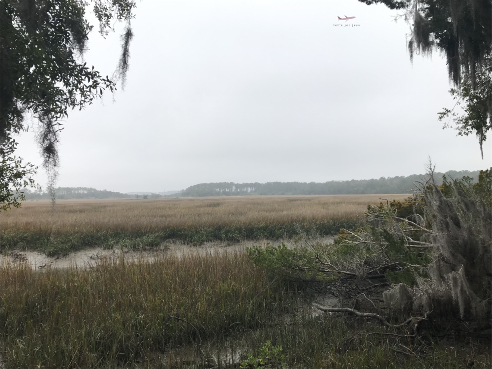 Skidaway River from Wormsloe Historic Park
