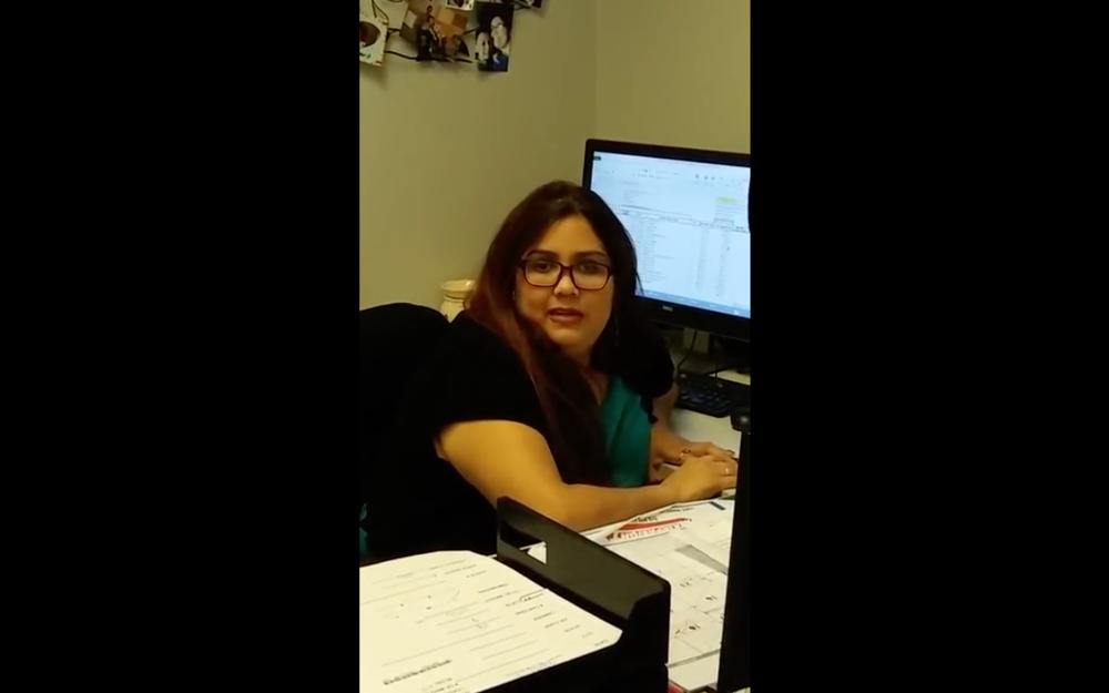 Screenshot: Click here to watch Julissa's Holman pitch video.