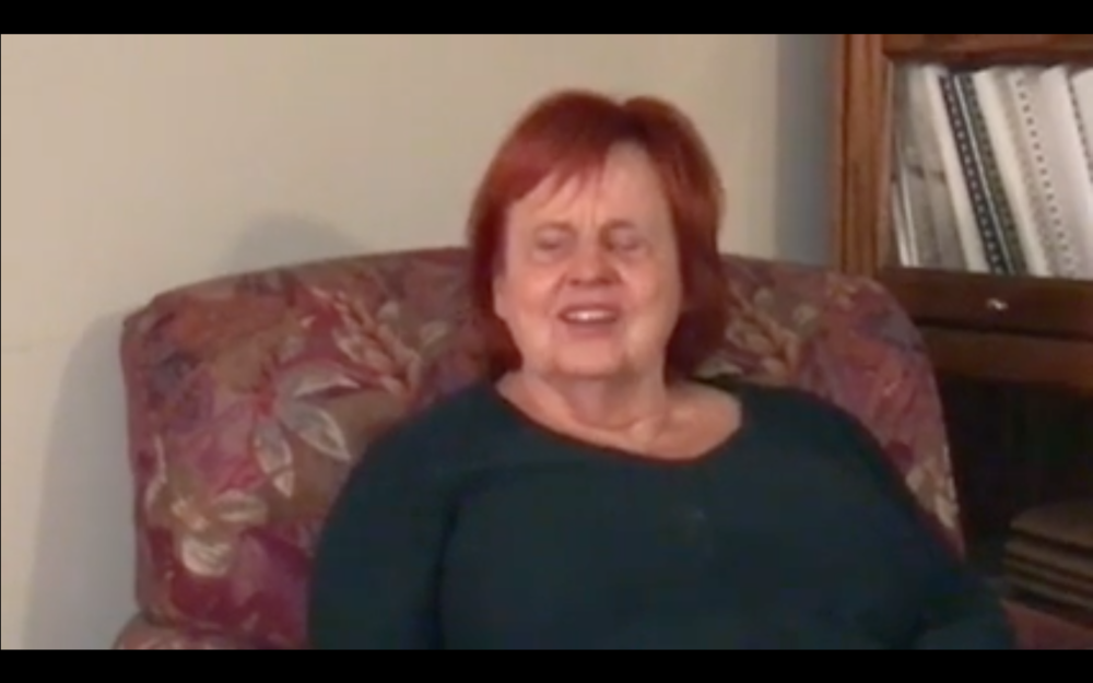 Screenshot: Click here to watch Maureen's Holman pitch video.