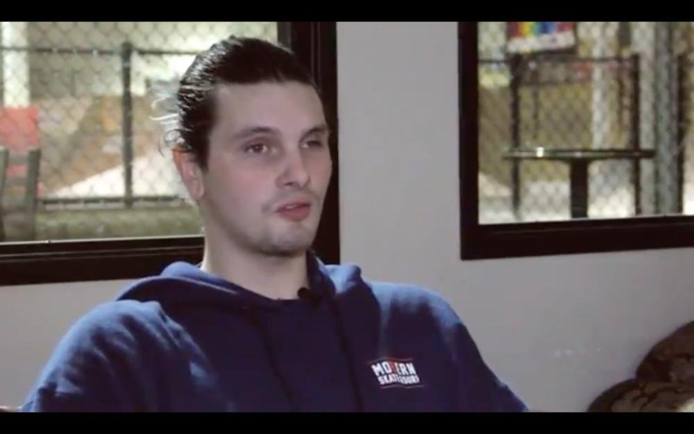 Screenshot: Click here to watch Nick's Holman video pitch.