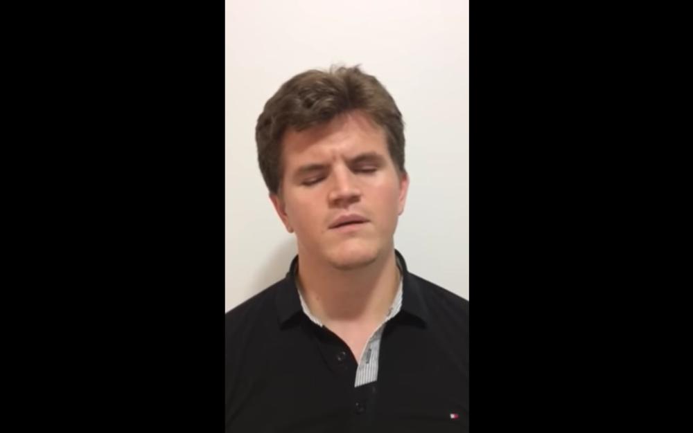 Screenshot: Click here to watch Felipe's Holman video pitch.