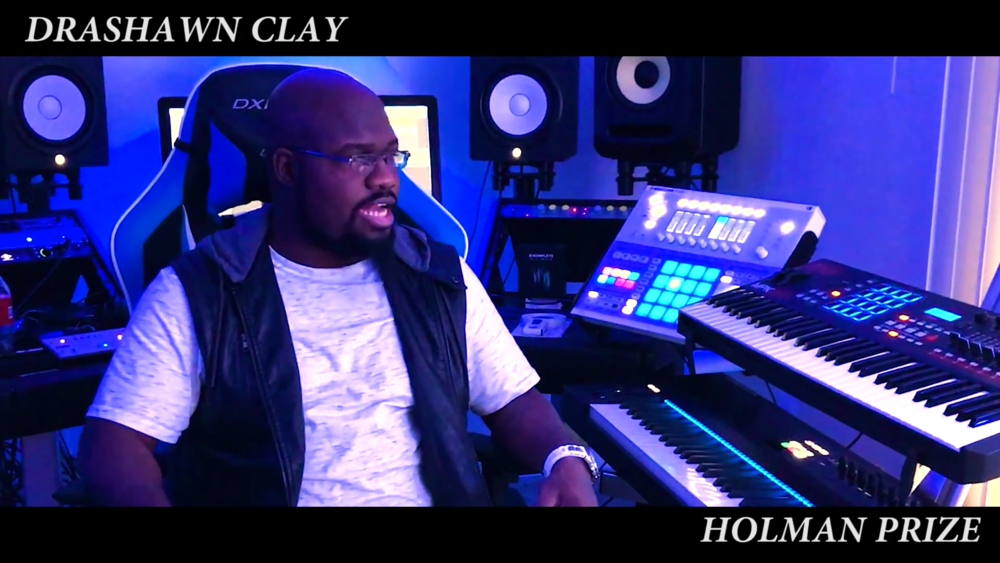 Screenshot. Click here to watch Drashawn's Holman pitch video.