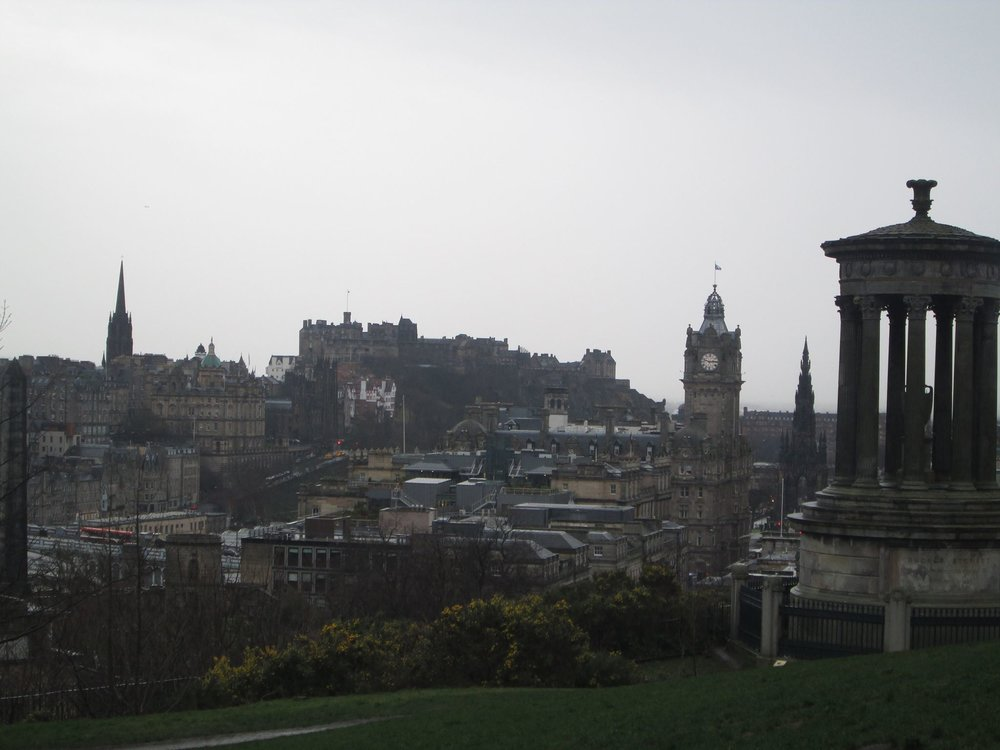 Lovely Old Town of Edinburgh, Scotland