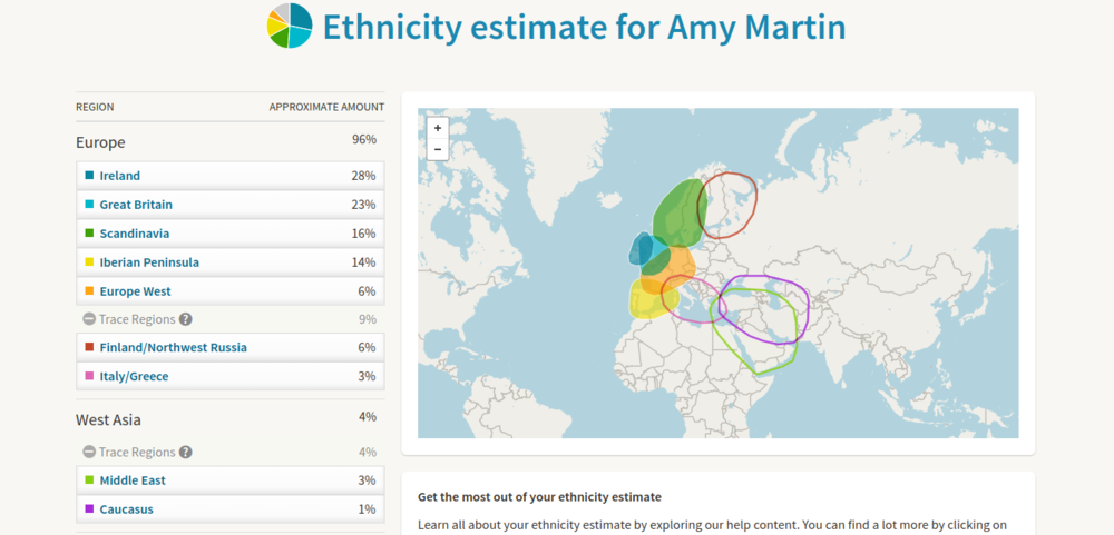 I provided a sample to AncestryDNA to find out where my genes said I came from