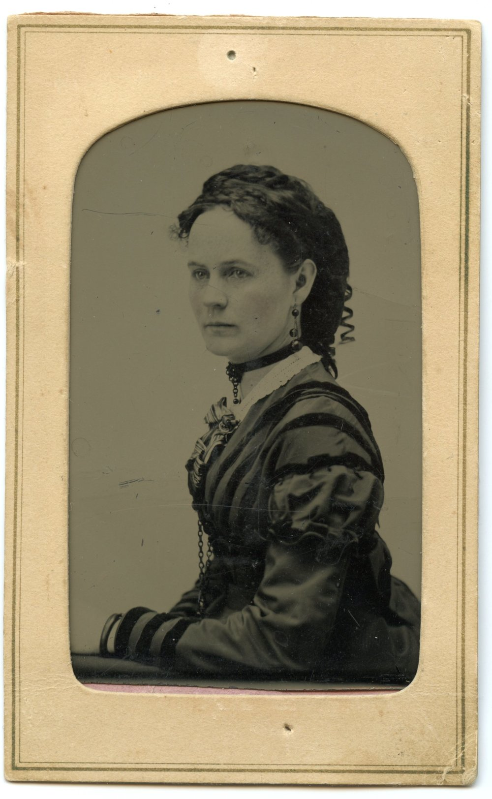 My paternal great-great-grandmother, Elsie Amelia Baker (Martin) circa 1870s