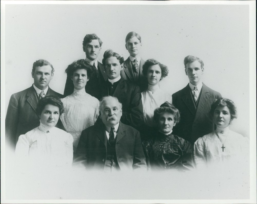 My paternal three times great grandparents and their offspring