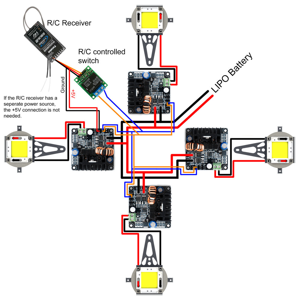 Arm Led Stratusleds. Arm Led Wiring Diagram. Wiring. Drone Led Wiring Diagram At Scoala.co