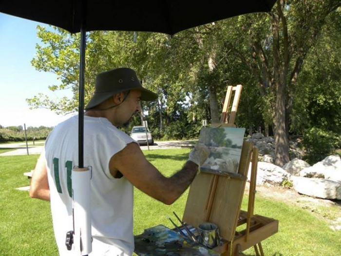 Perhaps you have an interest in joining me on a plein air excursion or simply to exchange ideas.....drop me a line below.