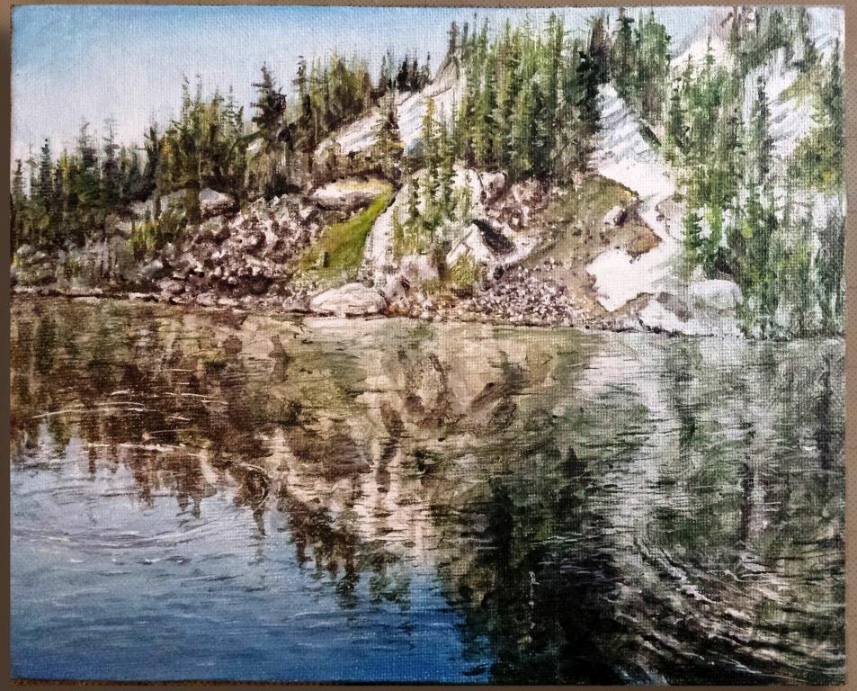 """""""Lake Reflections"""" -"""