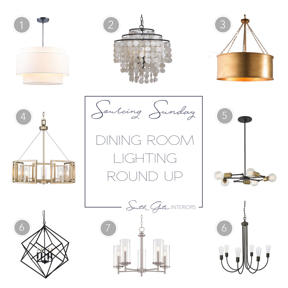 Dining room chandelier round up south gate interiors chandelierblogg arubaitofo Image collections