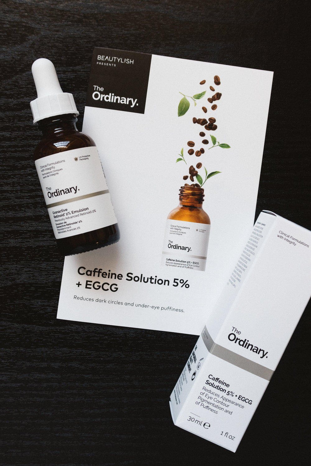 Beautylish sends a booklet with each product with information on how to use it, precautions, and how to build a regime with other The Ordinary prodcuts. -