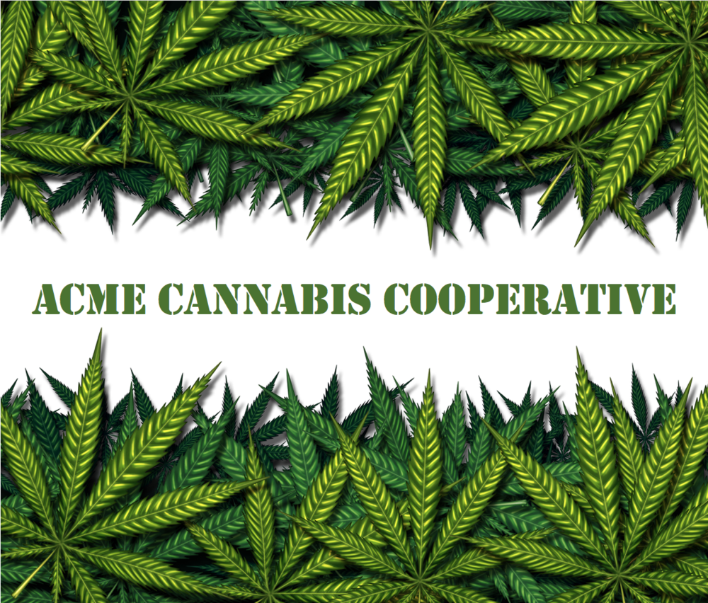 Click here for ACME Cannabis Cooperative's portal.