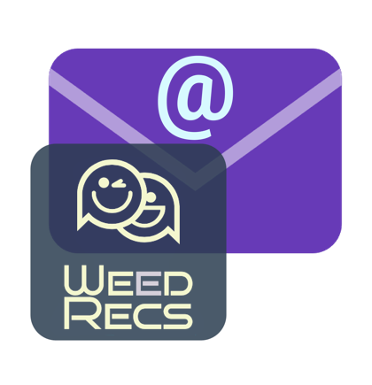 Was your recommendation free from a dispensary or delivery service and delivered to you as an email? - IF SO, CLICK
