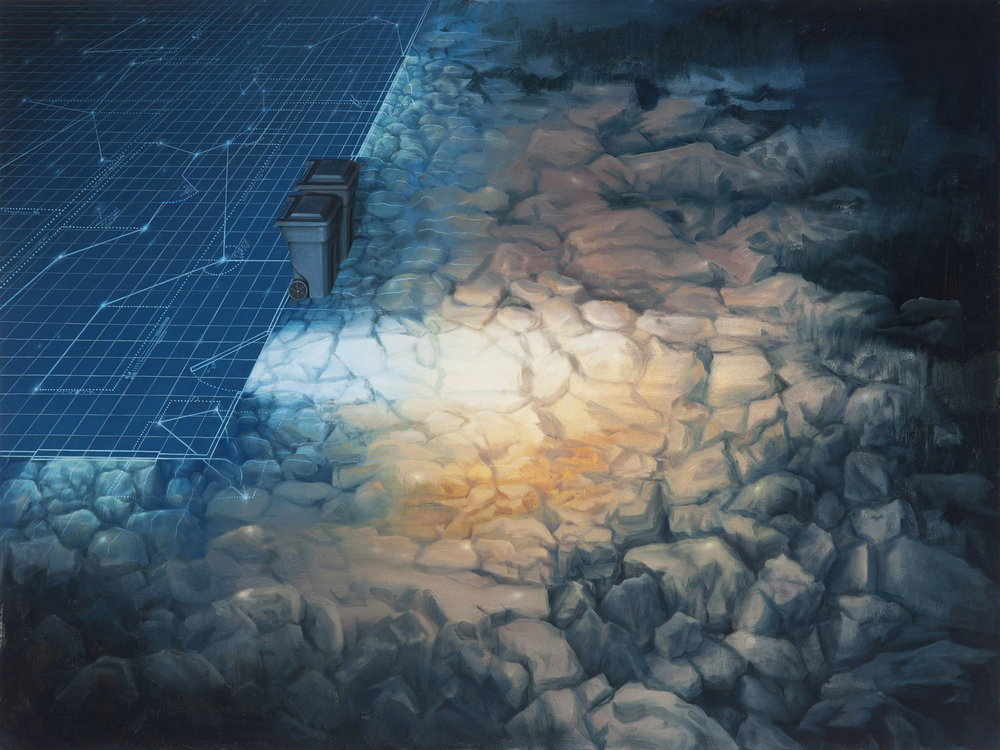 Throughways, 2010, Oil on canvas, 20x30inches