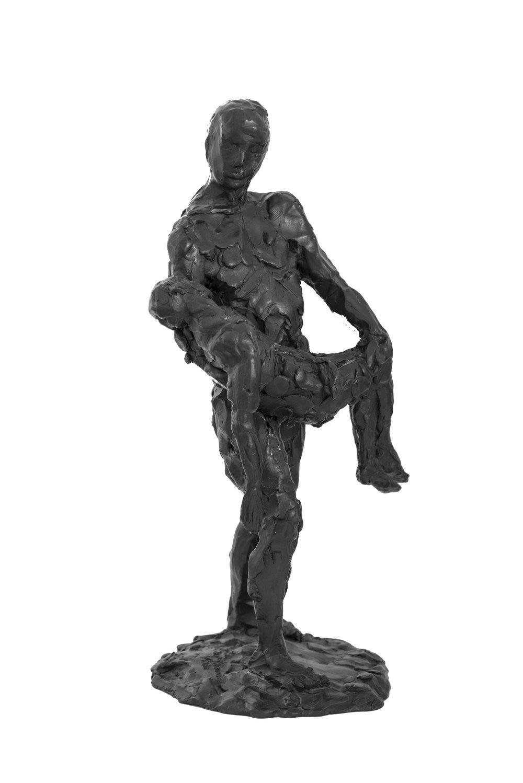 Christopher Slatoff_IllustratedManSmallMaquette_Bronze_14x6x6.jpg
