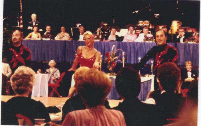 Beverly w Sam Sodano Red Dress.png