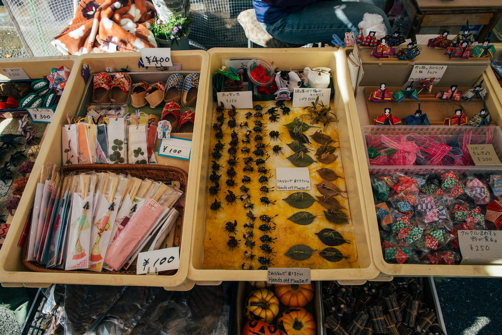 Other crafts and trinkets for sale.