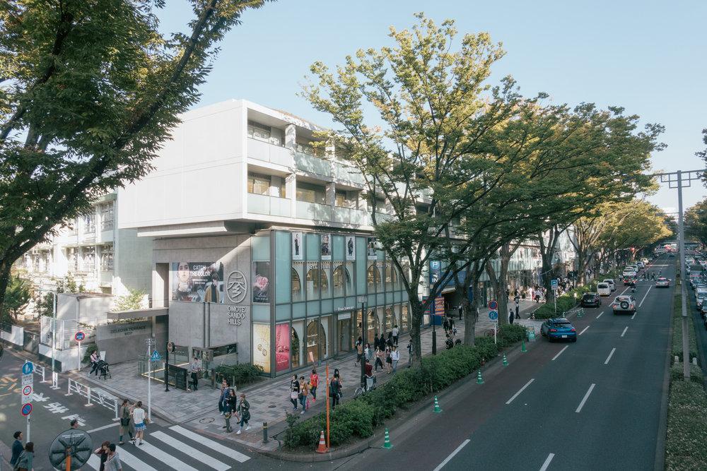Omotesando Hills by Tadao Ando