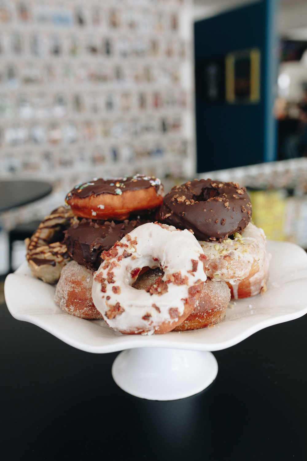doughnuts + coffee menu…
