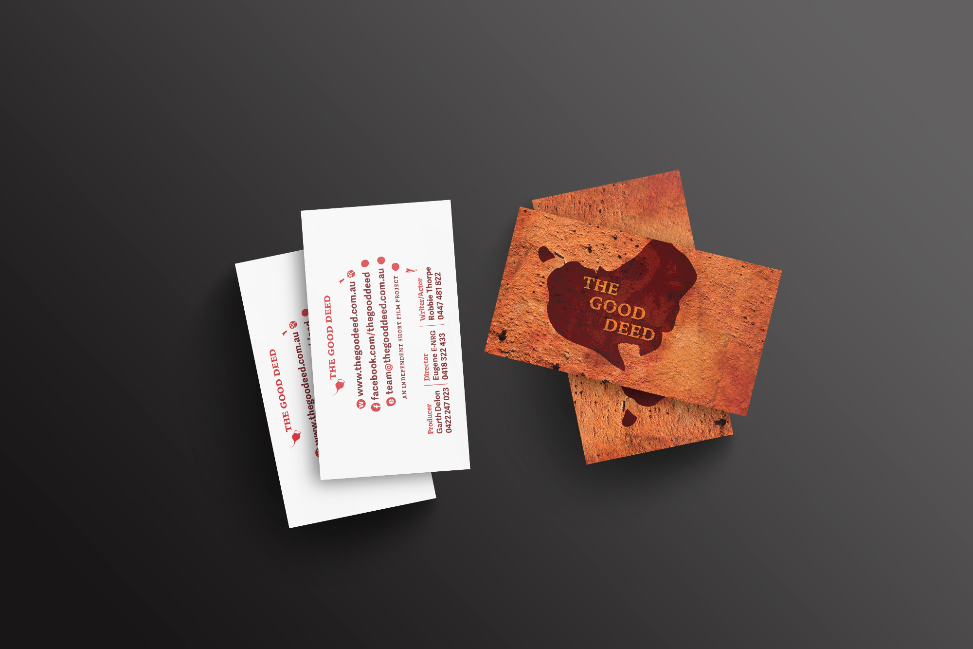 Film business cards choice image free business cards the good deed short film bodhi creative business cards magicingreecefo choice image magicingreecefo Choice Image