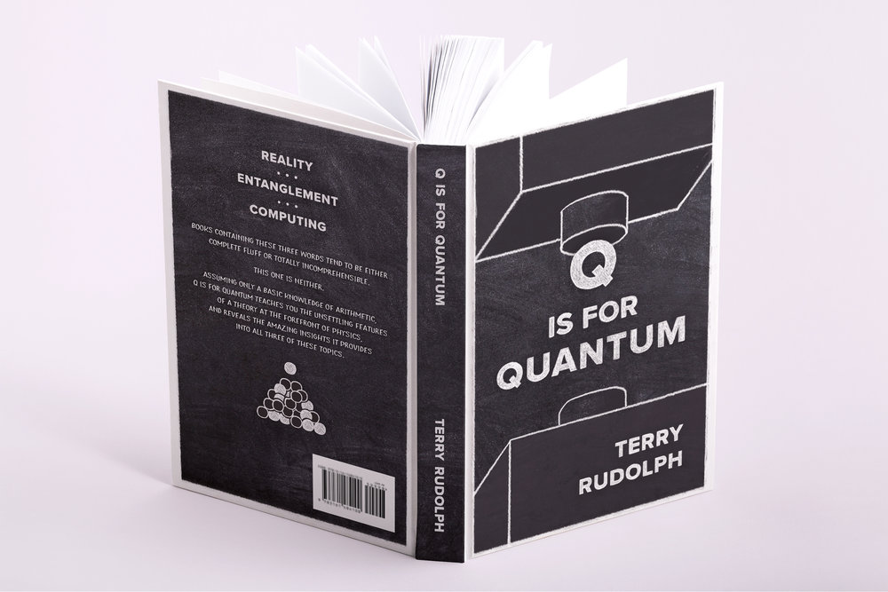 09ef9ba997e2 q is for quantum - 2017 · book cover design
