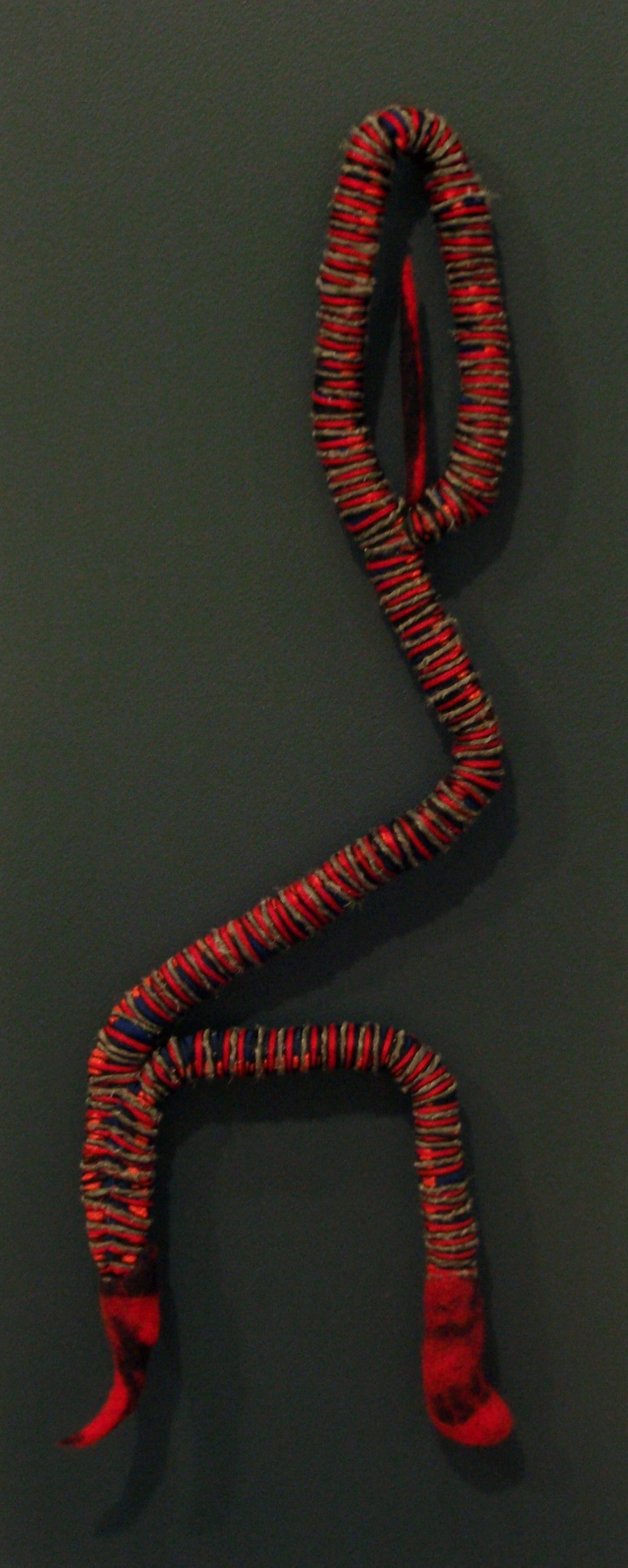Zarina (2009). Fabric, felt, thread & wire