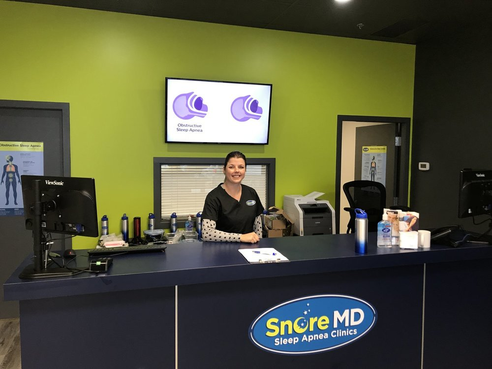Learn more about Snore MD Abbotsford - When there was a sleep apnea diagnosis in Amanda's family, she decided to focus her healthcare career in the sleep industry and joined Snore MD Abbotsford in September 2017 as Clinic Coordinator.