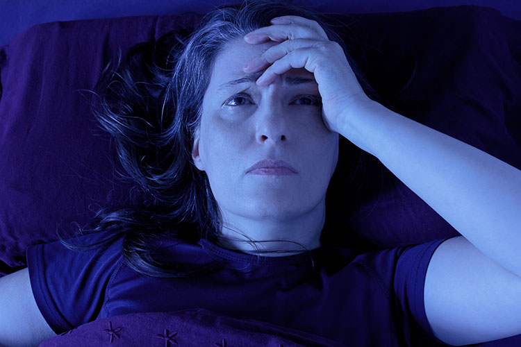 Wakeful episodes can be a symptom of REM-related sleep apnea.