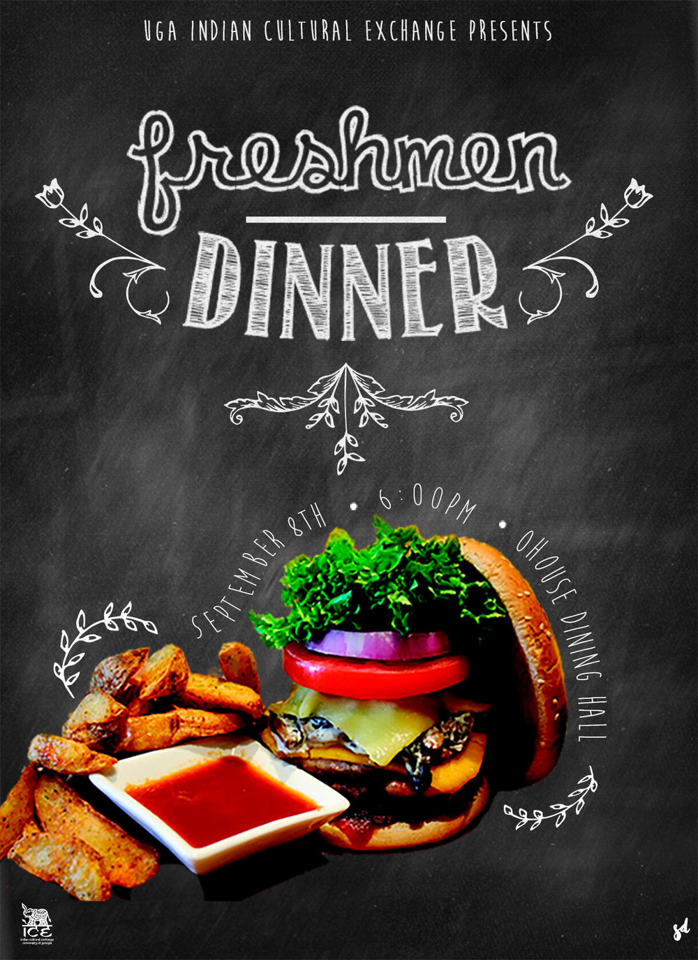 Saloni Doshi Dinner Flyer Design