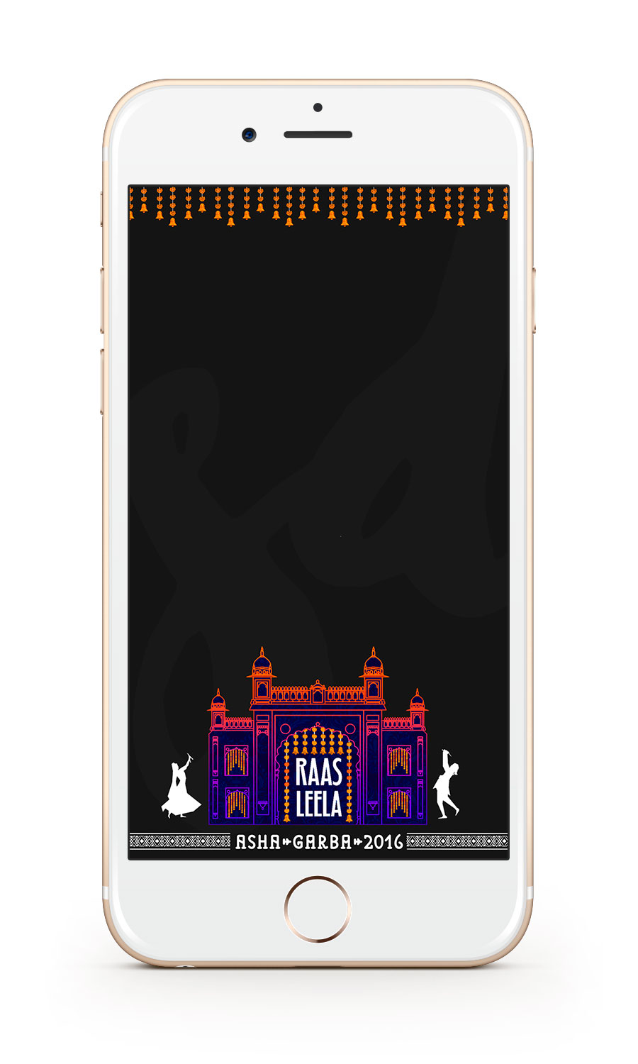 Saloni Doshi Garba Snapchat Filter Design