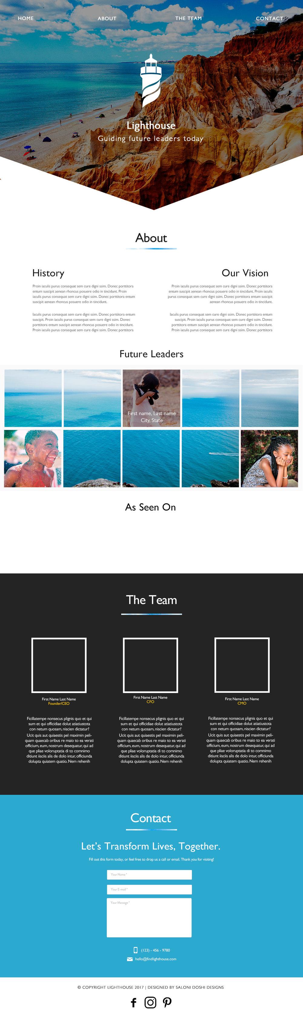 Saloni Doshi Lighthouse Web UI
