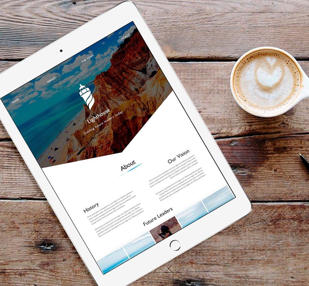 Lighthouse Web UI + Branding