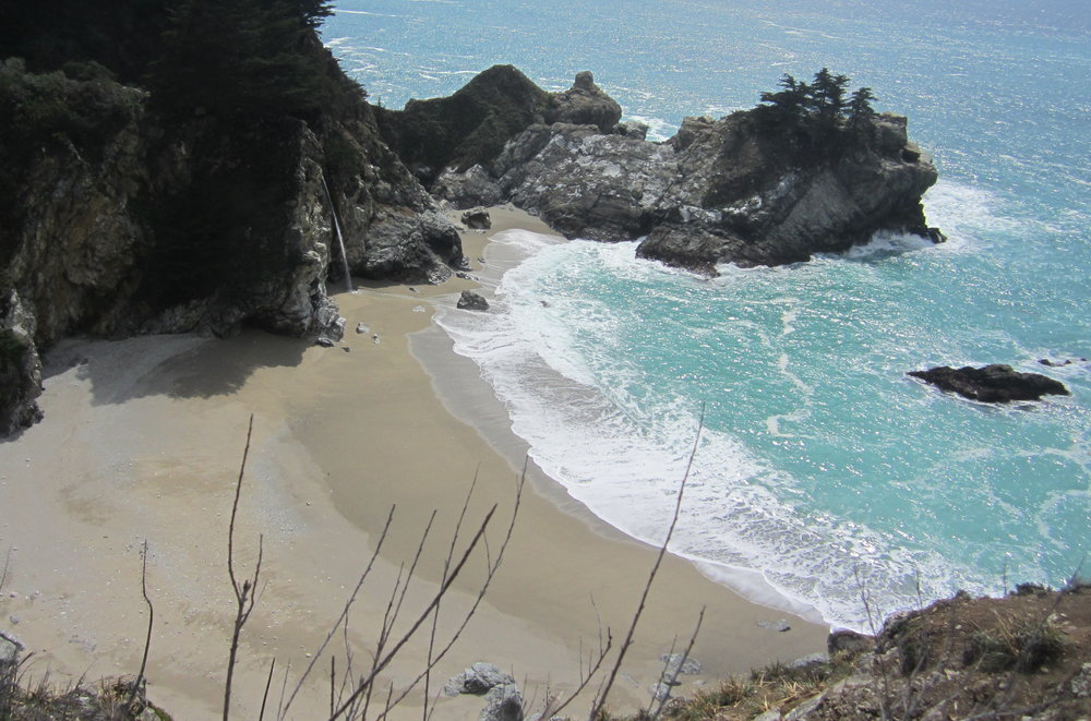 McWay Cove, McWay Beach, and McWay Falls