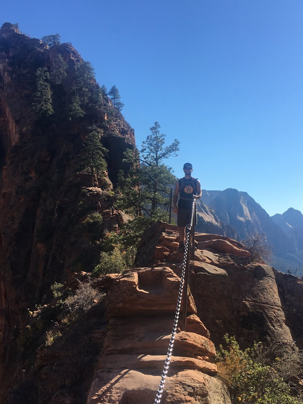 On the Angel's Landing Trail