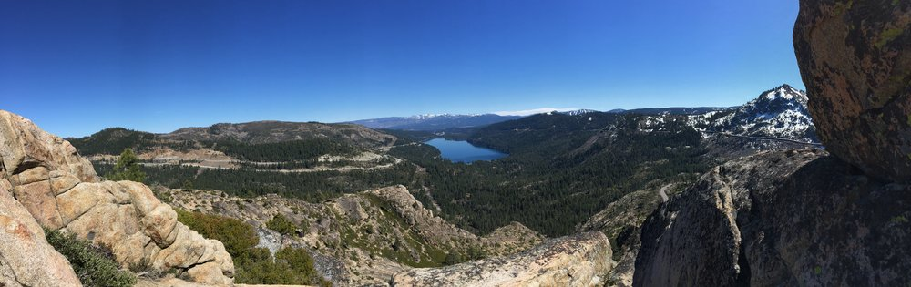 "Lake Donner Summit View Hike: See ""Hiking"" below for more info"