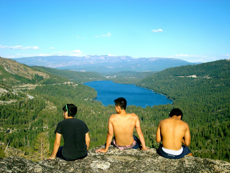 Hiking in Truckee can lead you to some pretty great views