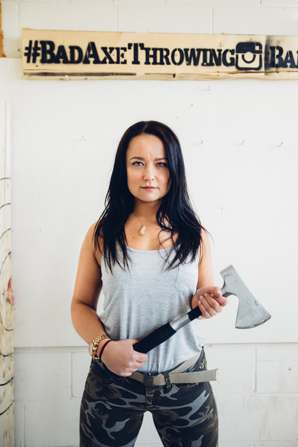Edyta, Bad Axe Throwing Coach