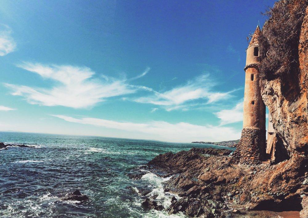Laguna Beach's Pirate Tower