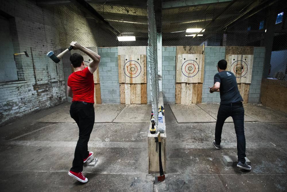 Axe Throwing Is In Full Swing In The U S A Exsplore
