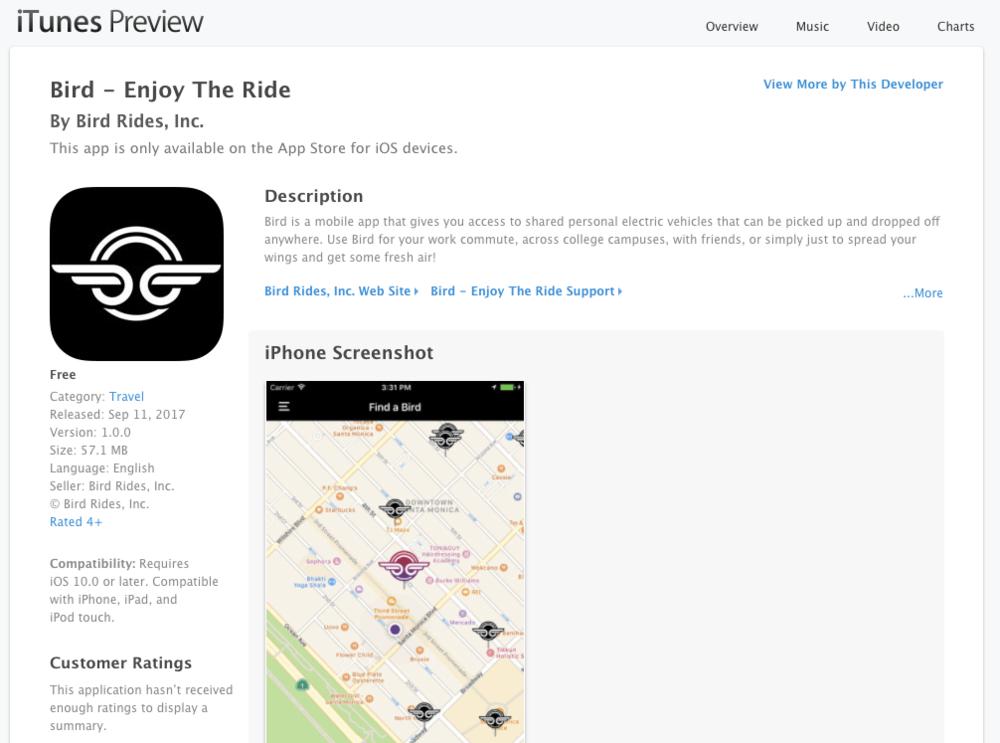 Bird App on the App Store