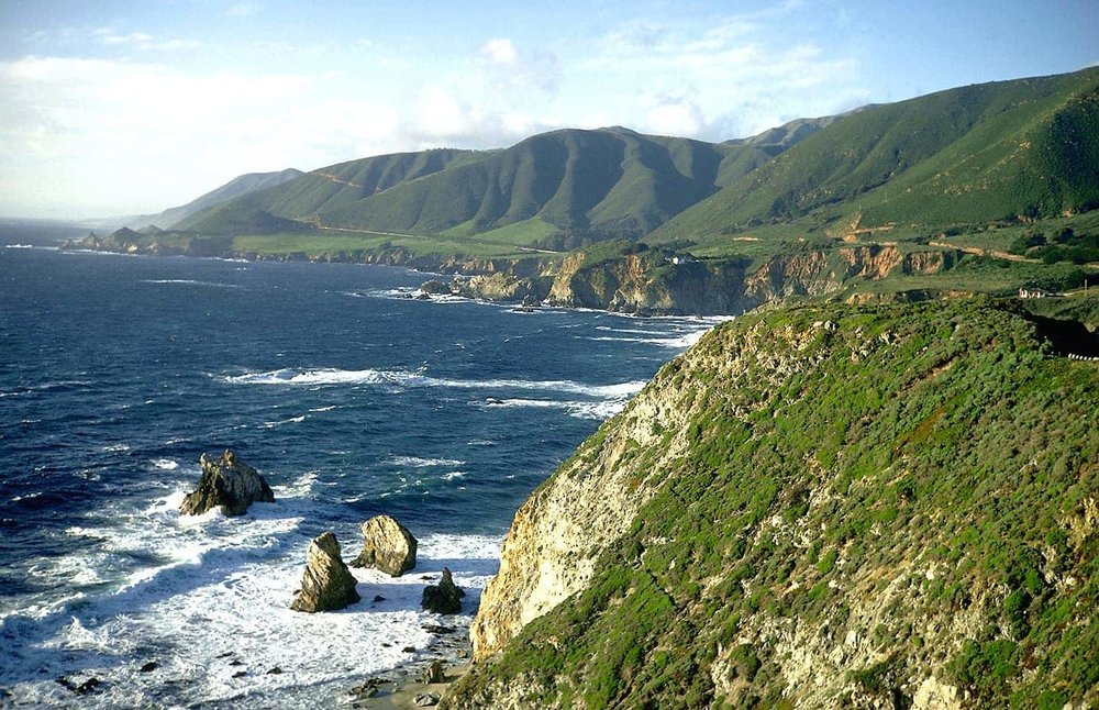 Big Sur's Rolling Hills via  Gordon Smith