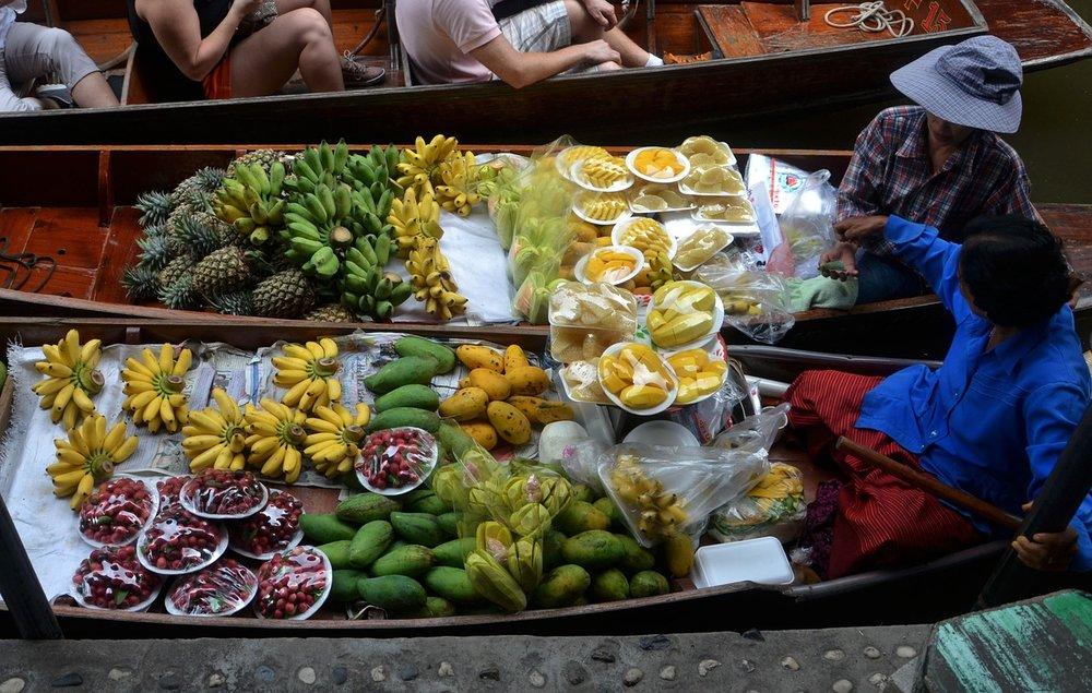 Healthy street food vendors
