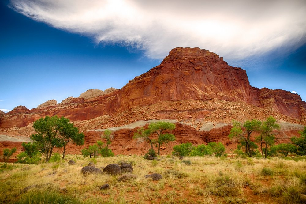 Red Rock Butte: Utah Tourism Attractions