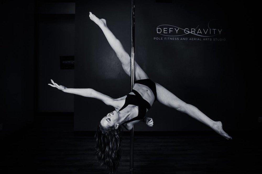 Defy Gravity Pole Showcases