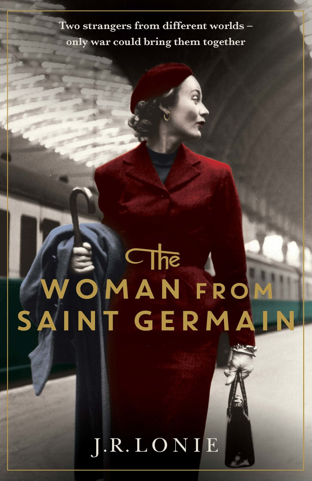 The Woman From Saint Germain  By J.R.Lonie Releases March 2019 (Simon & Schuster)