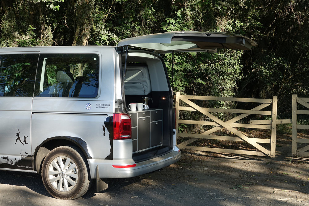 Volkswagen Multivan with Rear Kitchen and Packbags