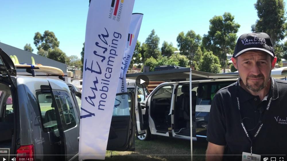 VanEssa mobilcamping at Victorian Caravan & Camping Supershow 2019