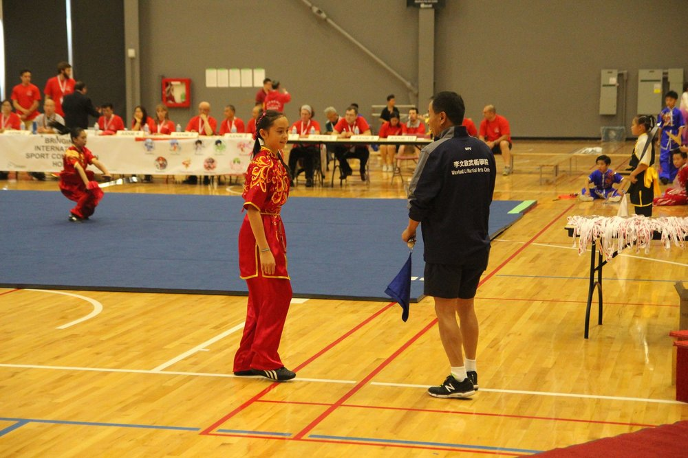 Wayland Li Wushu at Canadian National Selections